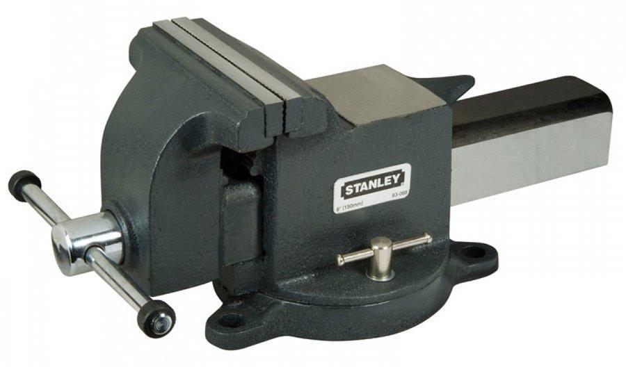 Тиски Stanley MaxSteel для большой нагрузки с усилием сжатия 2200 кг (1-83-068)