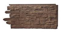 Фасадная панель Рваный камень Moсka