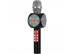 Беспроводной Bluetooth микрофон для караоке WSTER WS-1816 Черный