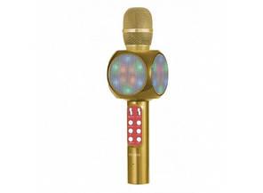 Беспроводной Bluetooth микрофон для караоке WSTER WS-1816 Золотой