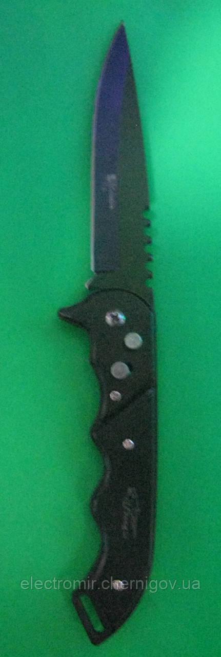 Нож складной с кнопкой Hong Li