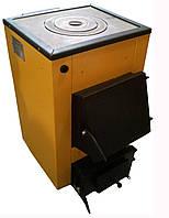 Твердотопливный котел Буран-mini 12 кВт с варочной поверхностью