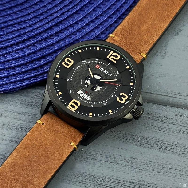 Часы наручные Curren 8305 Black-Brown