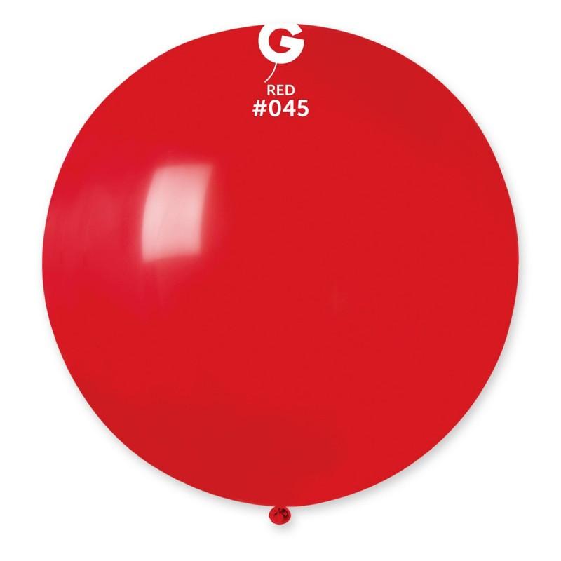 "Куля 31"" (80 см) Gemar пастель 45 червоний (Джемар)"