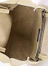 Кожаная сумка POOLPARTY Soho цвет желтый лимонад женская, фото 3