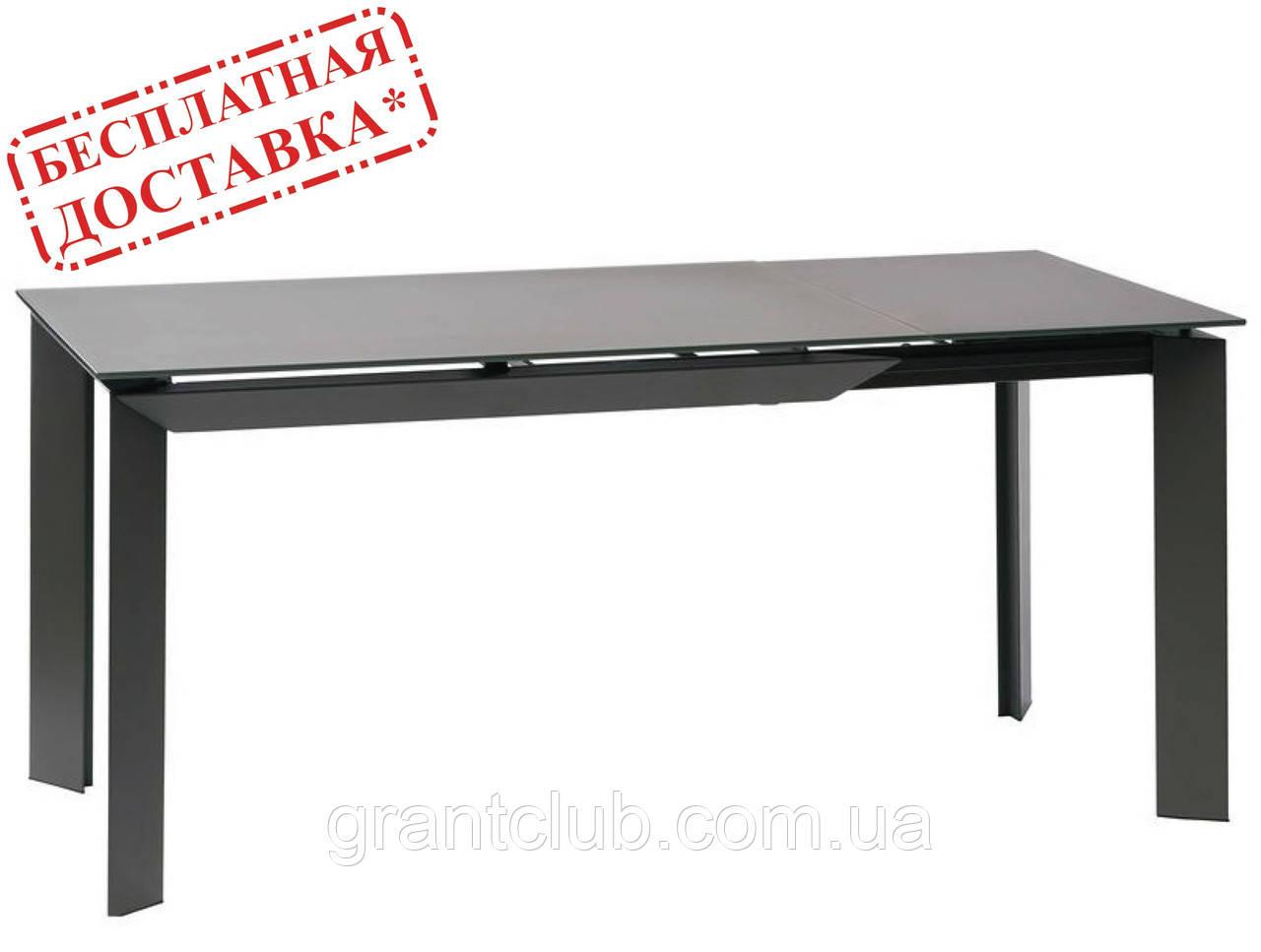 Стіл VERMONT MATT GREY 120/170 сірий матовий (безкоштовна доставка)