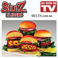 Пресс для бургеров Stufz Sliders, прибор для приготовления бургера Стафз Слайдерс, фото 1