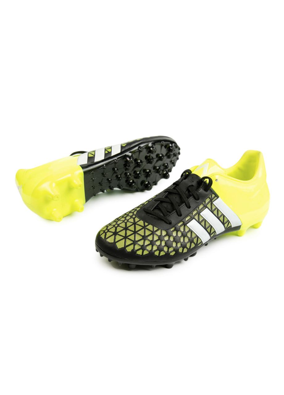 Бутси Adidas 48 2/3 Жовтий, Чорний, Сірий
