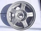 Диск колесный ВАЗ 2172 (литой) (спица прямая) (производство АвтоВАЗ)