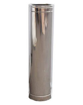 Труба дымоходная 1м нерж/нерж ø100/160мм