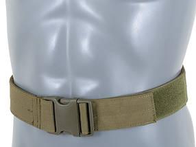 Sztywny pas bojowy (L) - Olive [8FIELDS] (для страйкбола), фото 2