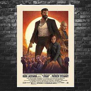 "Постер ""Logan (2017)"". Росомаха, Логан, Хью Джекман, Люди Икс. Размер 60x42см (A2). Глянцевая бумага"