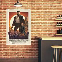 "Постер ""Logan (2017)"". Росомаха, Логан, Хью Джекман, Люди Икс. Размер 60x42см (A2). Глянцевая бумага, фото 2"