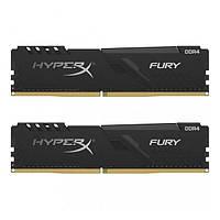 Оперативна память Kingston 32 GB (2x16GB) DDR4 3733 MHz HyperX Fury Black (HX437C19FB3K2/32)