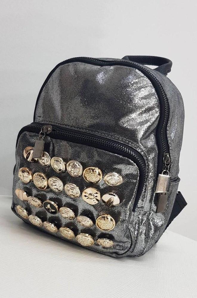 Рюкзак Y-15 бронзовый 23 х 19 х 7 см