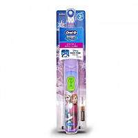 Детская электрическая зубная щетка Oral-B DB3.010 Stages Power на батарейке Холодное сердце (849338575)