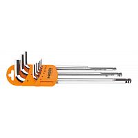 Набор инструментов Neo Tools ключи шестигранные, 1.5-10 мм, набор 9 шт (09-525)