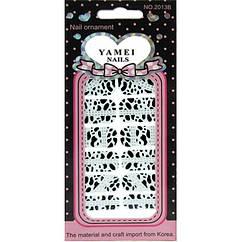 Наклейки для Ногтей Ноготки Yamei Nails Самоклеящиеся №2013В № 04 Слайдер Дизайн