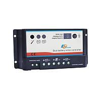 Солнечный контроллер заряда для яхты EPIPDB-COM 20A (на 2 акб)