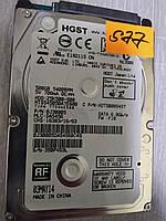 "Жесткий диск HDD для ноутбука 2.5"" 500GB HGST HITACHI 5400rpm SATA III ультра тонкий! №77"