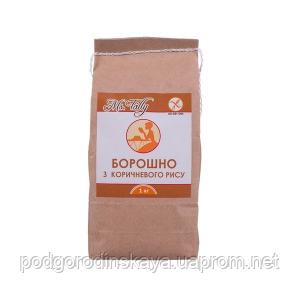 Борошно з коричневого риса без глютена Ms. Tally 1кг Украина