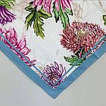 10603-1, павлопосадский платок хлопковый (батистовый) с швом зиг-заг, фото 6