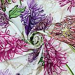 10603-1, павлопосадский платок хлопковый (батистовый) с швом зиг-заг, фото 7