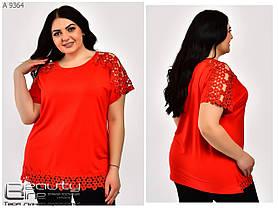 Летняя женская футболка размер  54.56.58