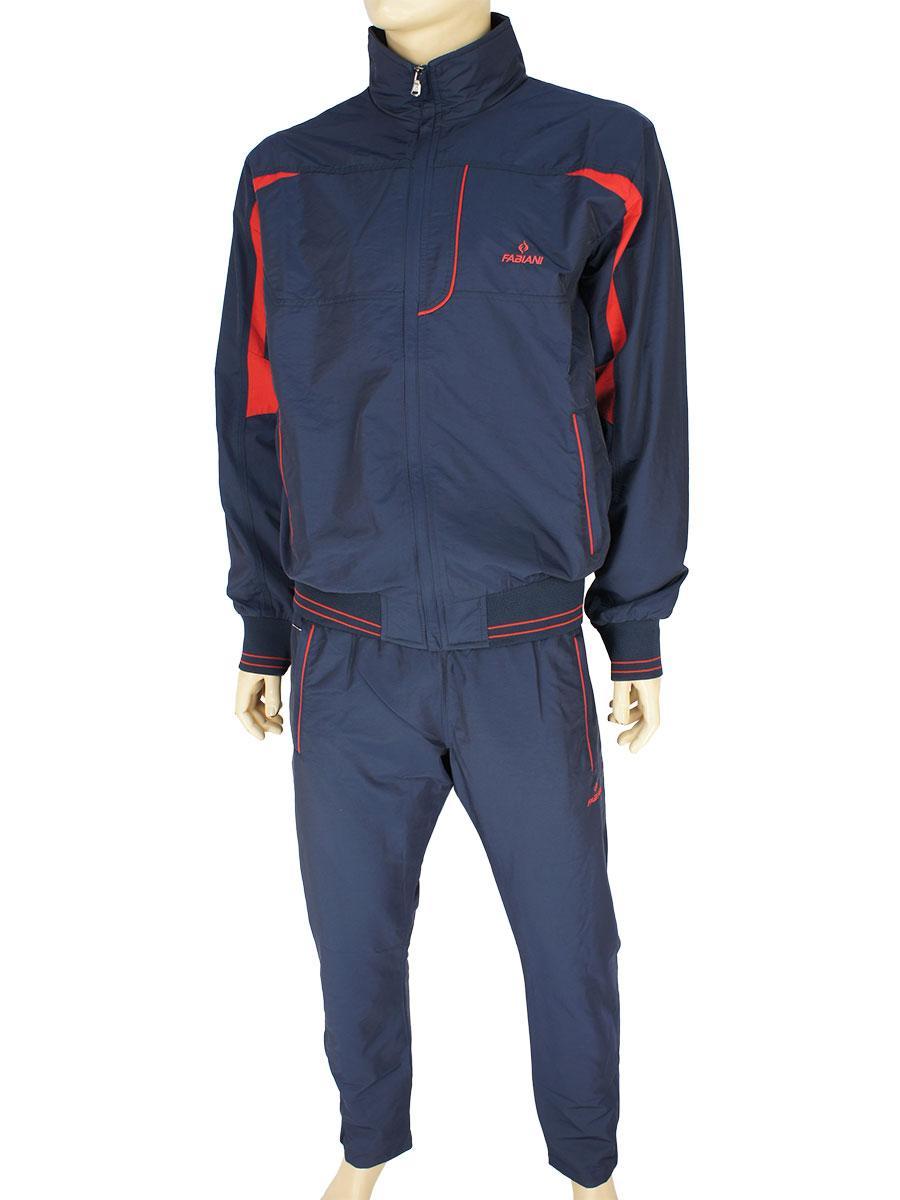 Спортивний чоловічий костюм Fabiani 15КЕ8Е590218 D. Blue