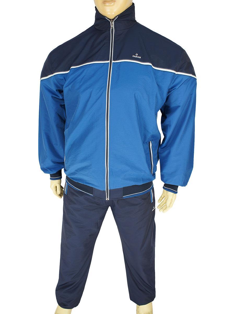 Спортивный мужской костюм Fabiani 15КЕ8E590221 indigo в большом размере
