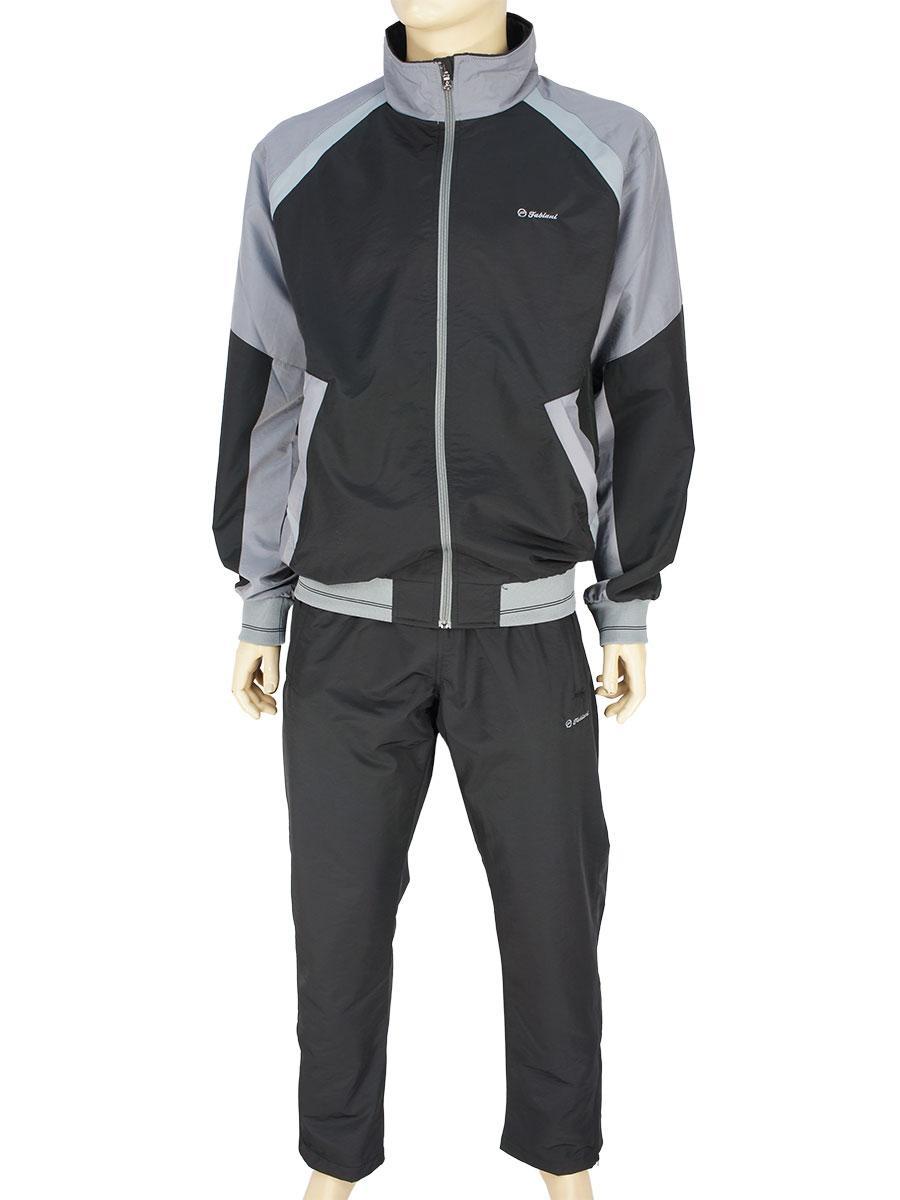 Турецкий спортивный костюм Fabiani 590253 H Black для мужчин