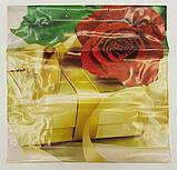 """Пакет с пластиковой ручкой  """"Подарочный"""" без ручки (10 шт), фото 3"""