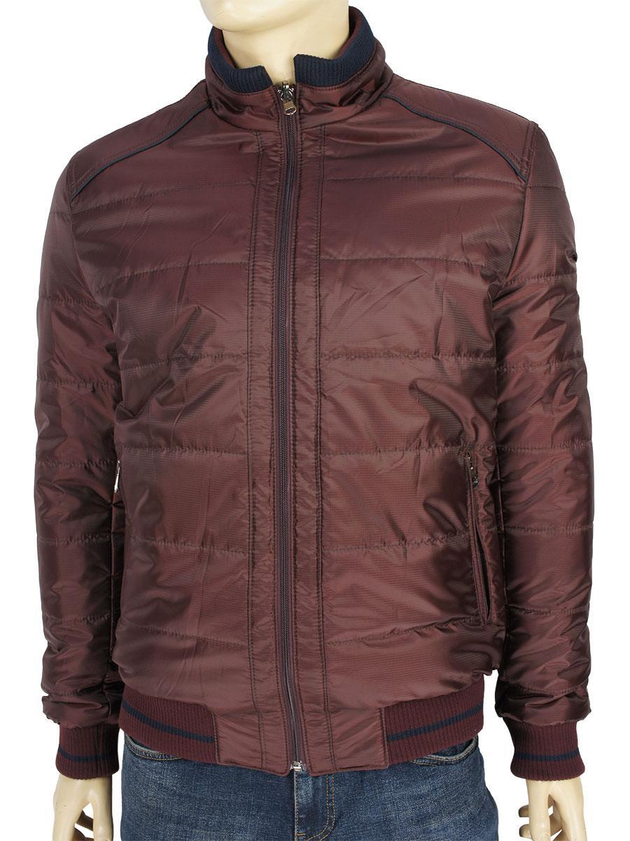 Стильная мужская двухсторонняя куртка Santoryo WK 2108 C-Bordo-Lacivert