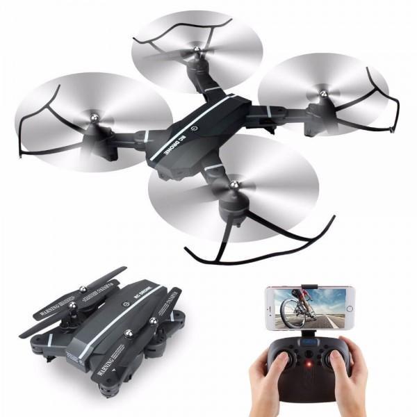Складывающийся квадрокоптер, дронc WiFi камерой RC drone 8807