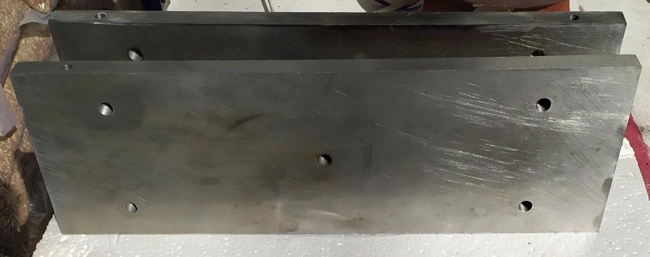 Плиты охлаждения с глубоким сверлением