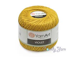 YarnArt Violet, Темное золото №6340