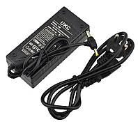 Блок питания UKC 12V 6A (1260) + кабель питания (5.5х2.5 и 3.7х2.2 мм)