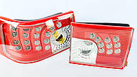 Диодные задние фары на ВАЗ 2110 Агрессор (красные)