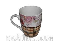Чашка 330мл Шотландська троянда A-21 MIX ТМINTEROS