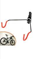 Крепление для велосипеда на стену за раму регулируемое,поворотное,подвесной кронштейн,кріплення для велосипеду, фото 1