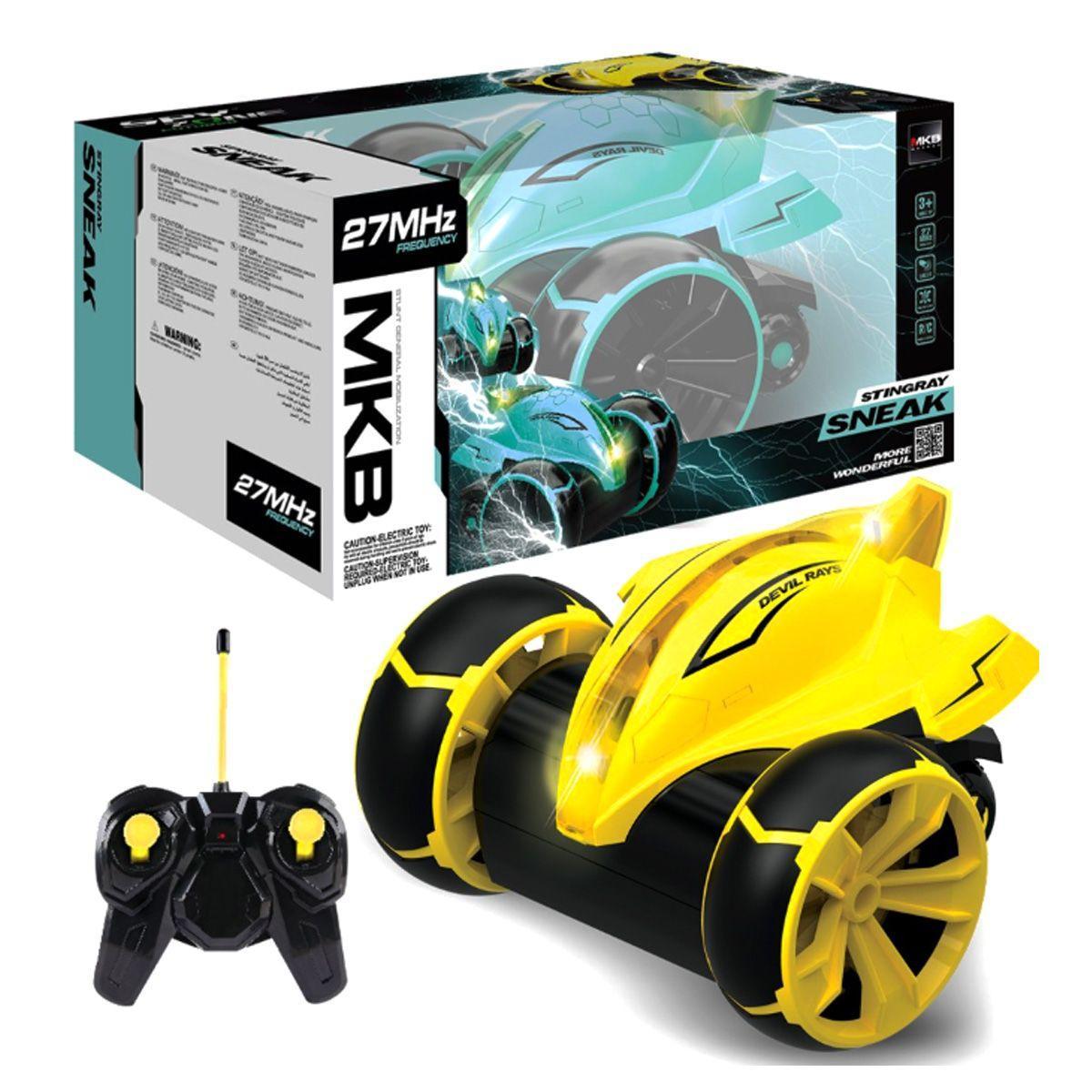 """Машинка перевертиш на радіокеруванні гоночна """"Stingray Sneak"""" (жовтий) MKB (5588-612)"""