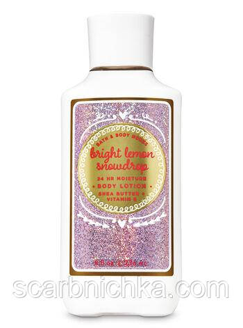 "Лосьон для тела Bath and Body Works ""Bright lemon snowdrop"""