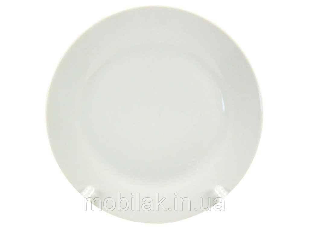 Тарілка мілка №9 d=220мм (12 шт. в уп) RWP -01 WHITE HoReCa ТМINTEROS