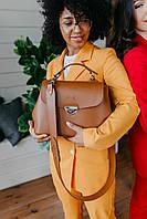 Сумка BARSELONA светло-коричневого цвета Udler, фото 1