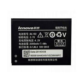Аккумулятор АКБ Lenovo BL192 для Lenovo A300 | A328 | A388T | A526 | A529 | A560|A590|A680|A750 (3.7V 2000mAh)