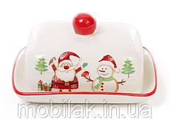 Масленичка керамічна Веселий Санта DM1902-X ТМBONADI