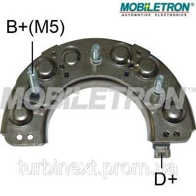 Діодний випрямляч ISUZU 8-42213-40, NISSAN 23230-B9801 MOBILETRON RH20C