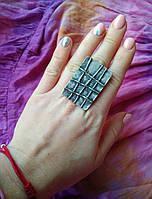 Тибетское этно бохо этническое в форме плитки под серебро