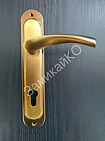 Дверная ручка на планке USK A85/40-012 кофе