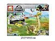 """Конструктор Динозавры """"Jurassic World"""" Парк юрского периода JX90069 8 в 1, фото 4"""